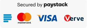 Payment powered by Paystack Secured payment system